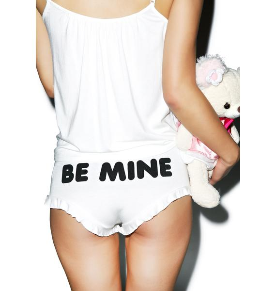 Wildfox Couture Be Mine Teddy Bear Cami Set