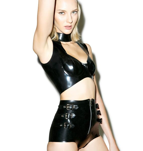 House of Etiquette Abbey Latex Short