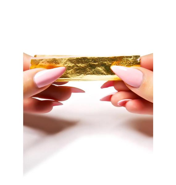 24K Gold Rolling Papers 12-Sheet Pack