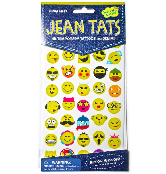 Funny Faces Jean Tats