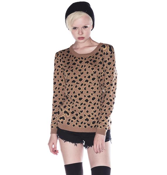 One Teaspoon Tiger Moth Pullover
