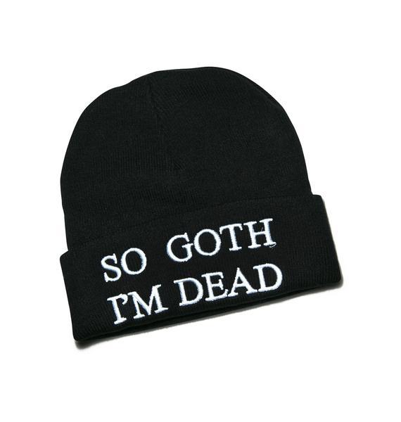 Killstar Goth Beanie
