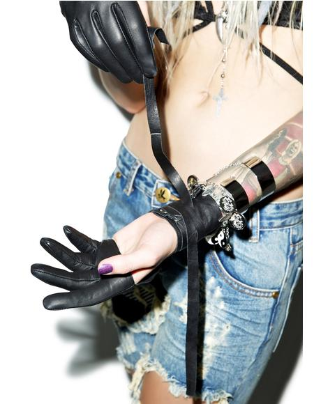 Le Femme Leather Gloves