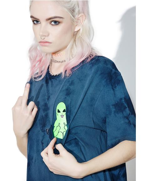 Washed Lord Alien Pocket Tee