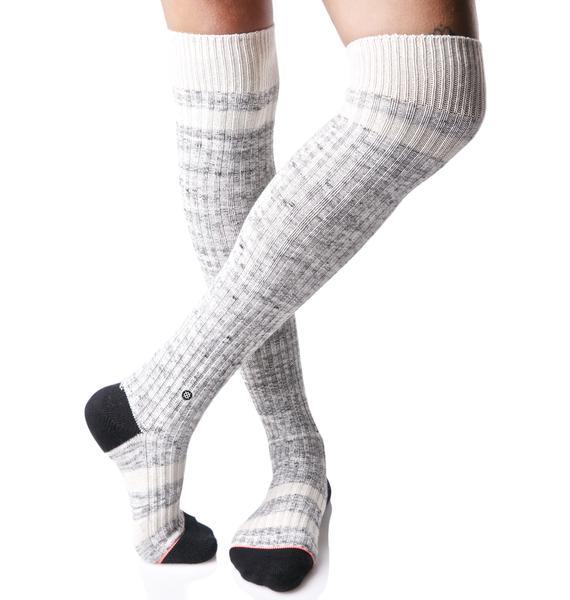 Stance Fire Dancer Over The Knee Socks
