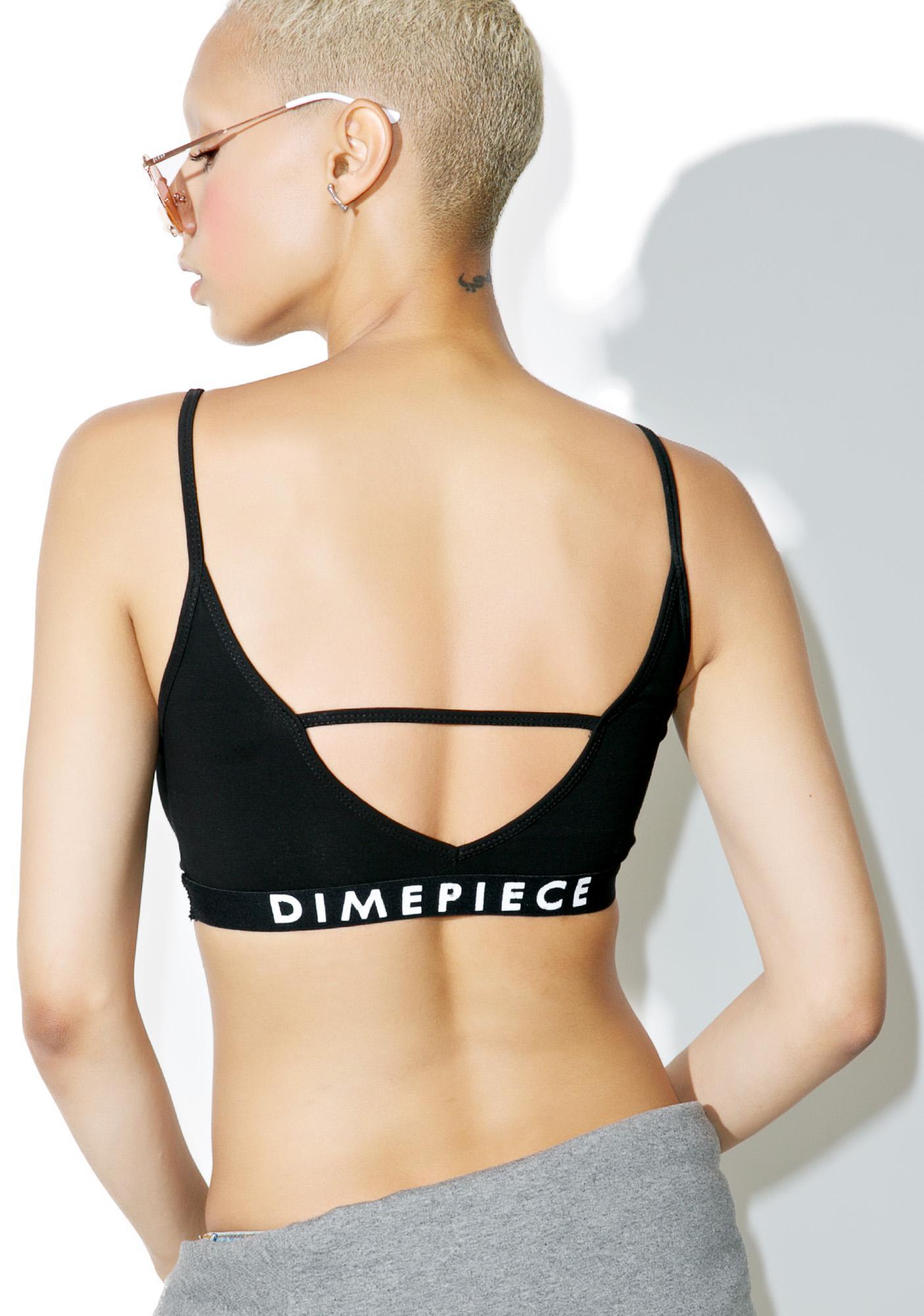 Dimepiece Dimepiece Logo Bralette