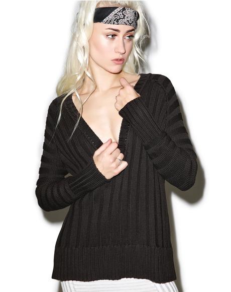Ashley Silk Raglan Sweater