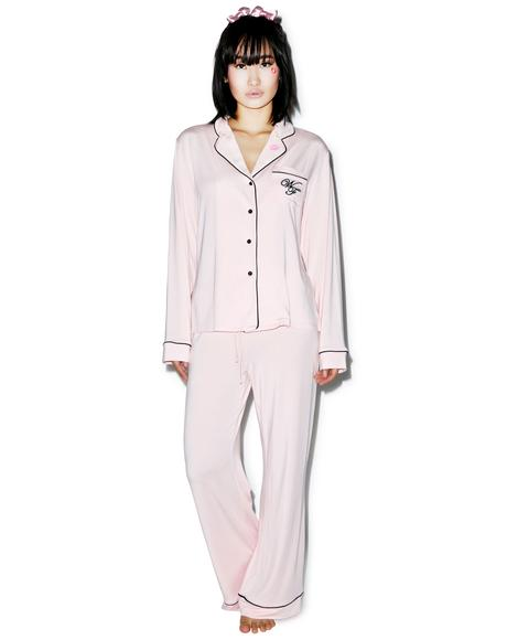 Love Is Everything Classic Pajama Set