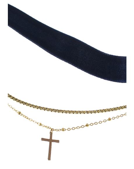 The Chain & Cross Choker