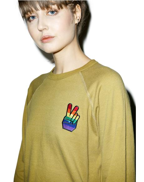 Rainbow Peace Top