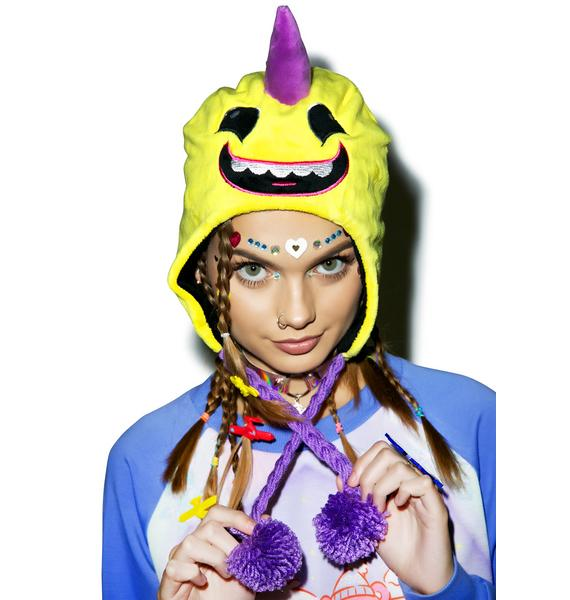 Iron Fist Lulu Deluxe Braided Tassel Beanie