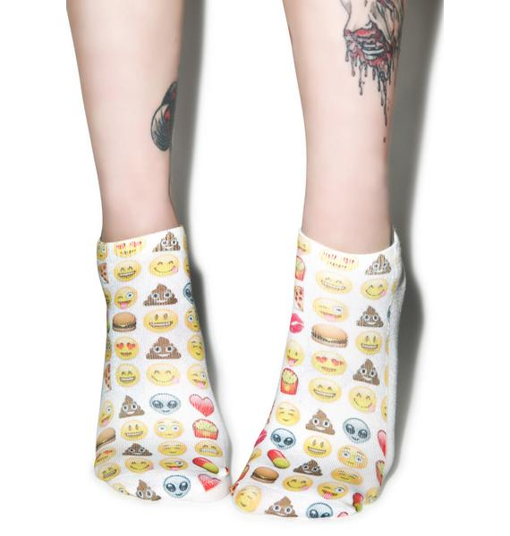 Emoji Ankle Socks