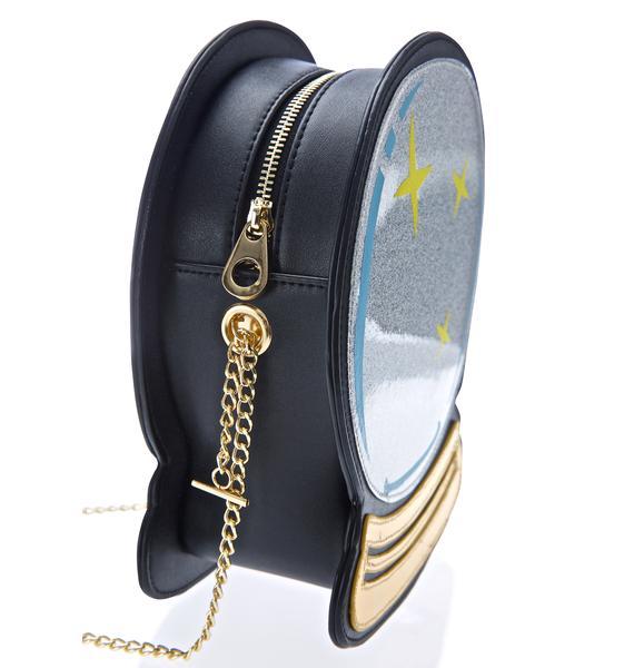 Nila Anthony Crystal Ball Bag