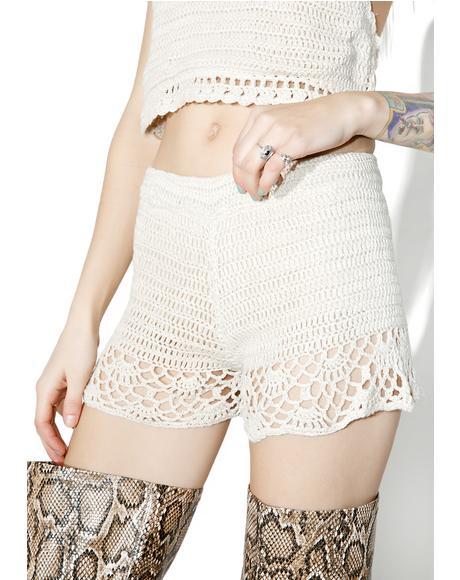 Salinas Crochet Shorts