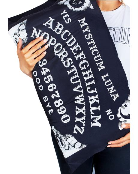 Ouija Pillow Case