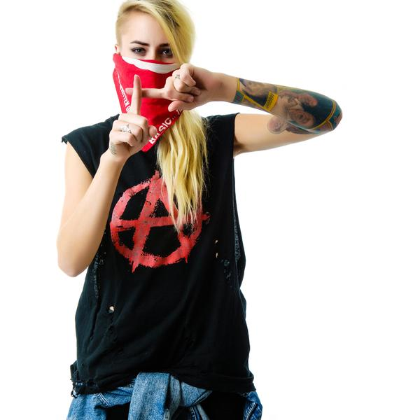Christian Benner Anarchy Sleeveless Tee