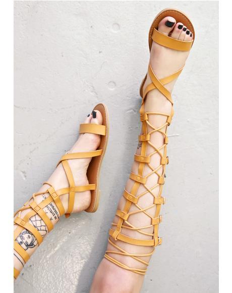 Athena Gladiator Sandals