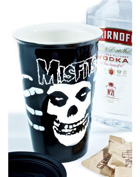 Misfits Coffee Tumbler