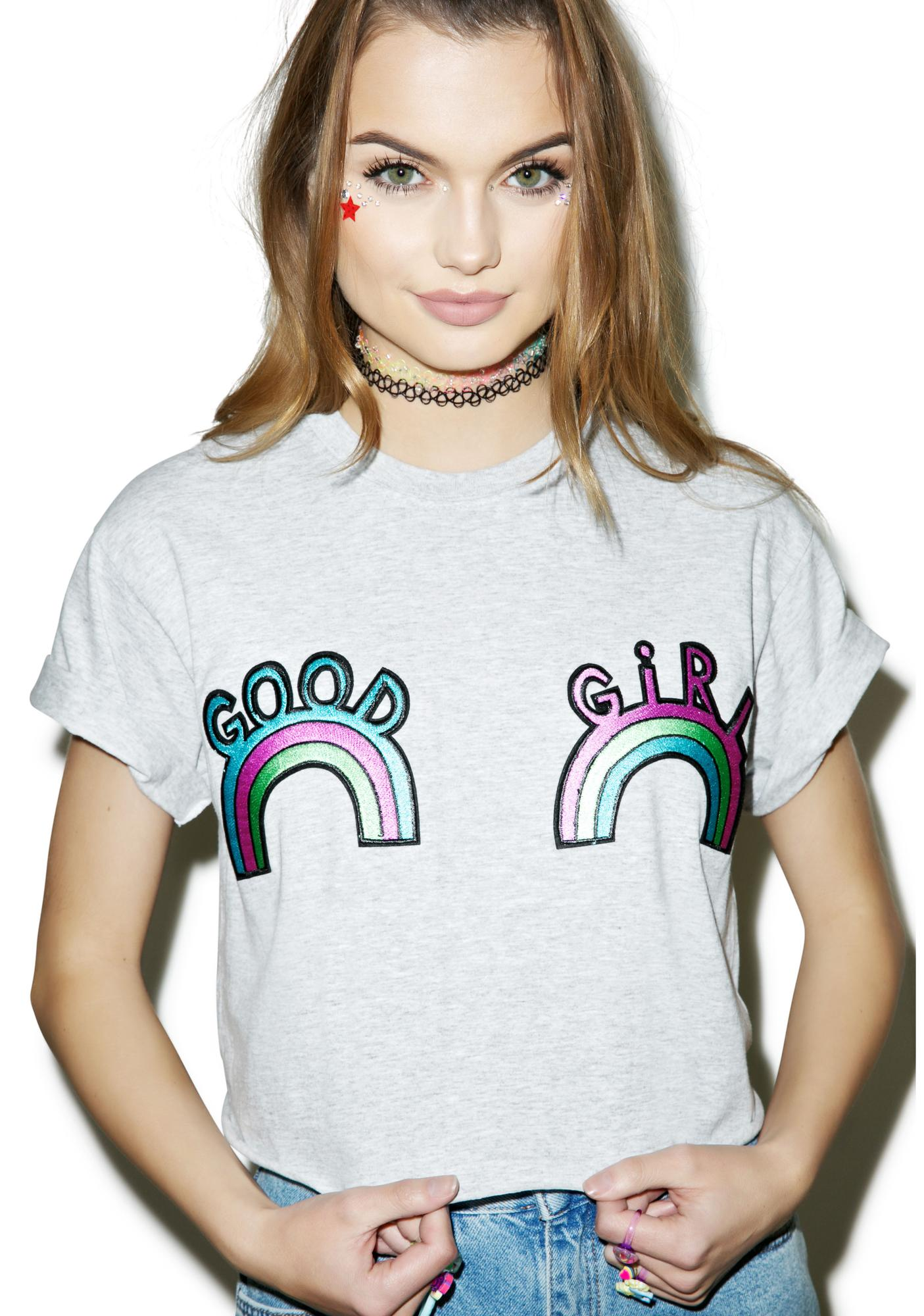 The Ragged Priest Good Girl Crop Tee