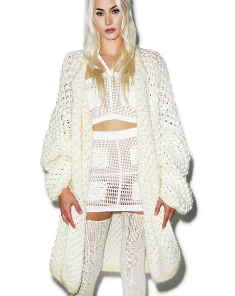 Grand Oversize Knit Cardigan