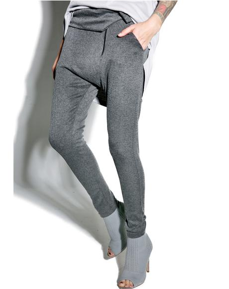 Gray Matters Foldover Pant