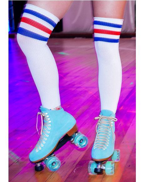 Floss Lolly Roller Skates