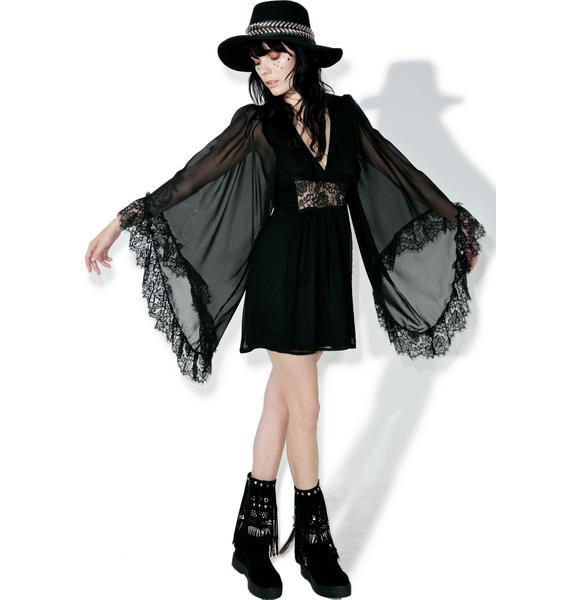 Current Mood Willow Doll Mini Dress
