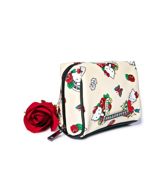 Sanrio Hello Kitty Rose Cosmetic Case