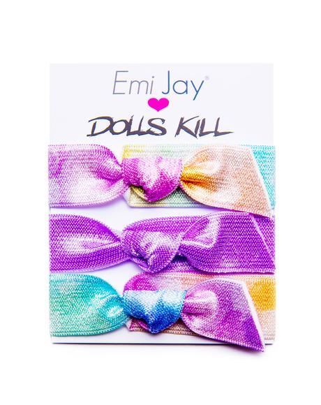 x Dolls Kill Watercolor Hawaii Hair Bands