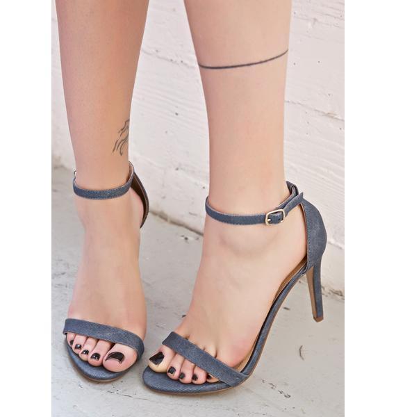 Raw Jaiden Strappy Heels
