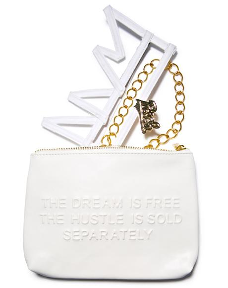 Hustle And Dream Clutch