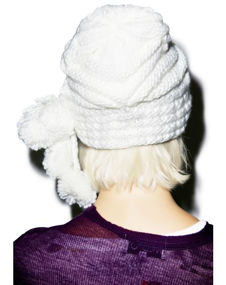 Cable Car Pom Pom Hat