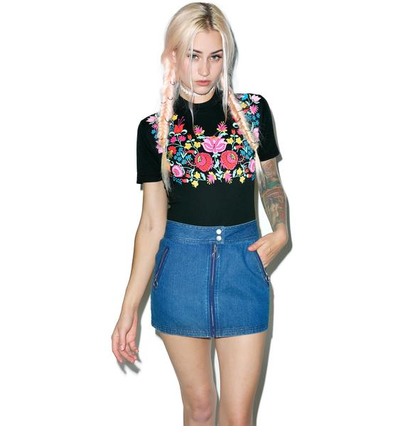 Wildfox Couture Folktale Legend Tee Bodysuit