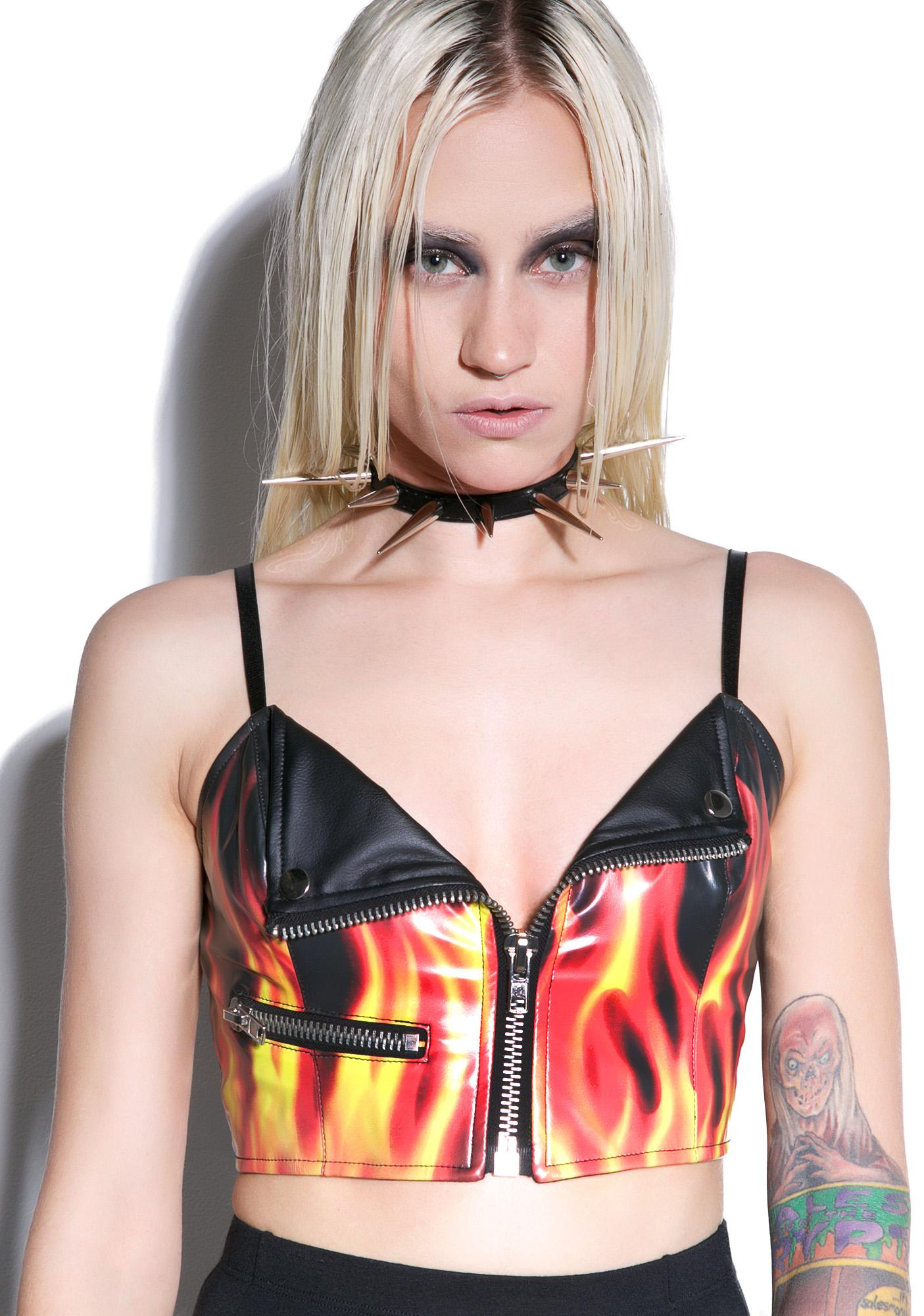 24HRS Flamin' Hot Moto Top