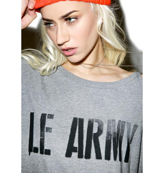 One Teaspoon Le Army Abbey Tee