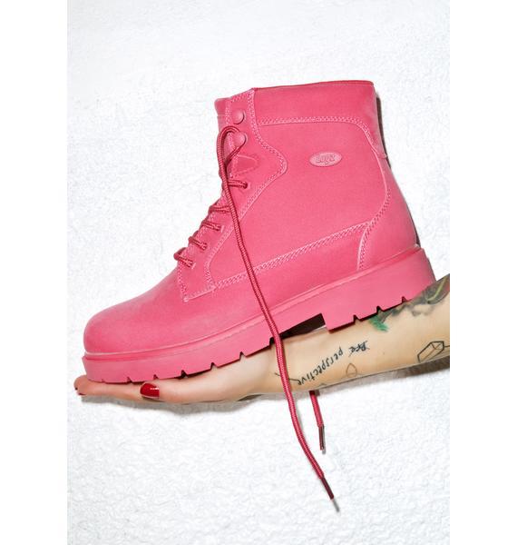 Lugz Raspberry Regiment Boots
