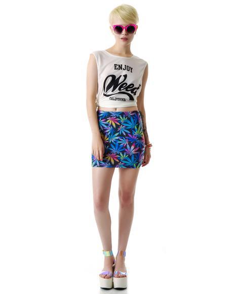 Holiday High Skirt