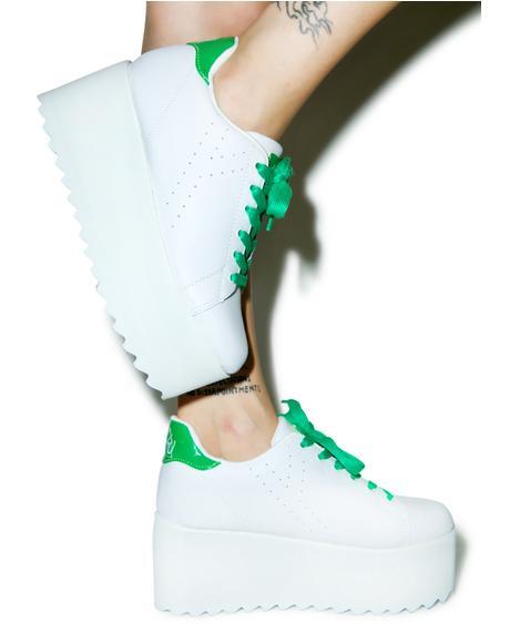 Sporty Lala Platform Sneakers