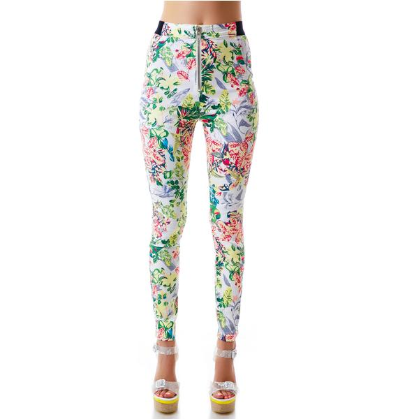 Bird of Paradise Skinny Jeans