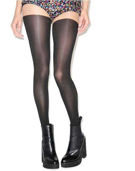 Mock Over The Knee Super Tights