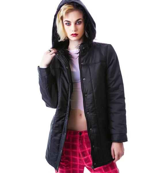Mink Pink Puff And Stuff Jacket