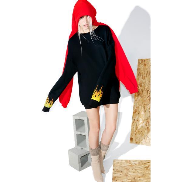 Hardware LDN Flame Sweatshirt