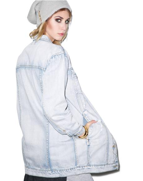 Bricklane Longline Denim Jacket