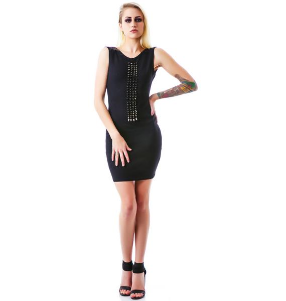 Black Wednesday The Femme Fatale Dress