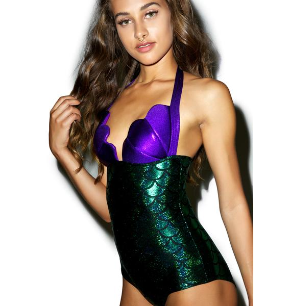 J Valentine Sea Goddess Bodysuit