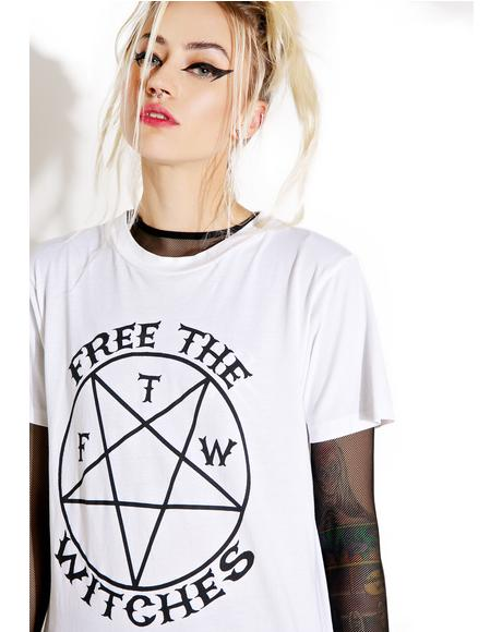 Free The Witches Tee