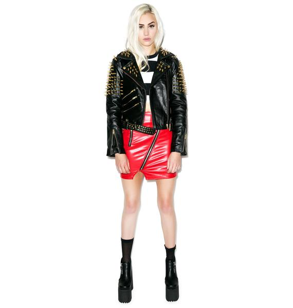 Killstar Luxe Spike Jacket