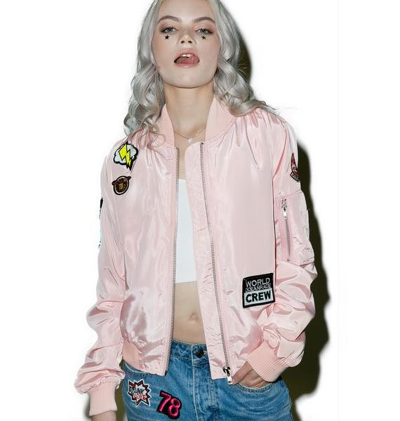 Patch Happy Bomber Jacket