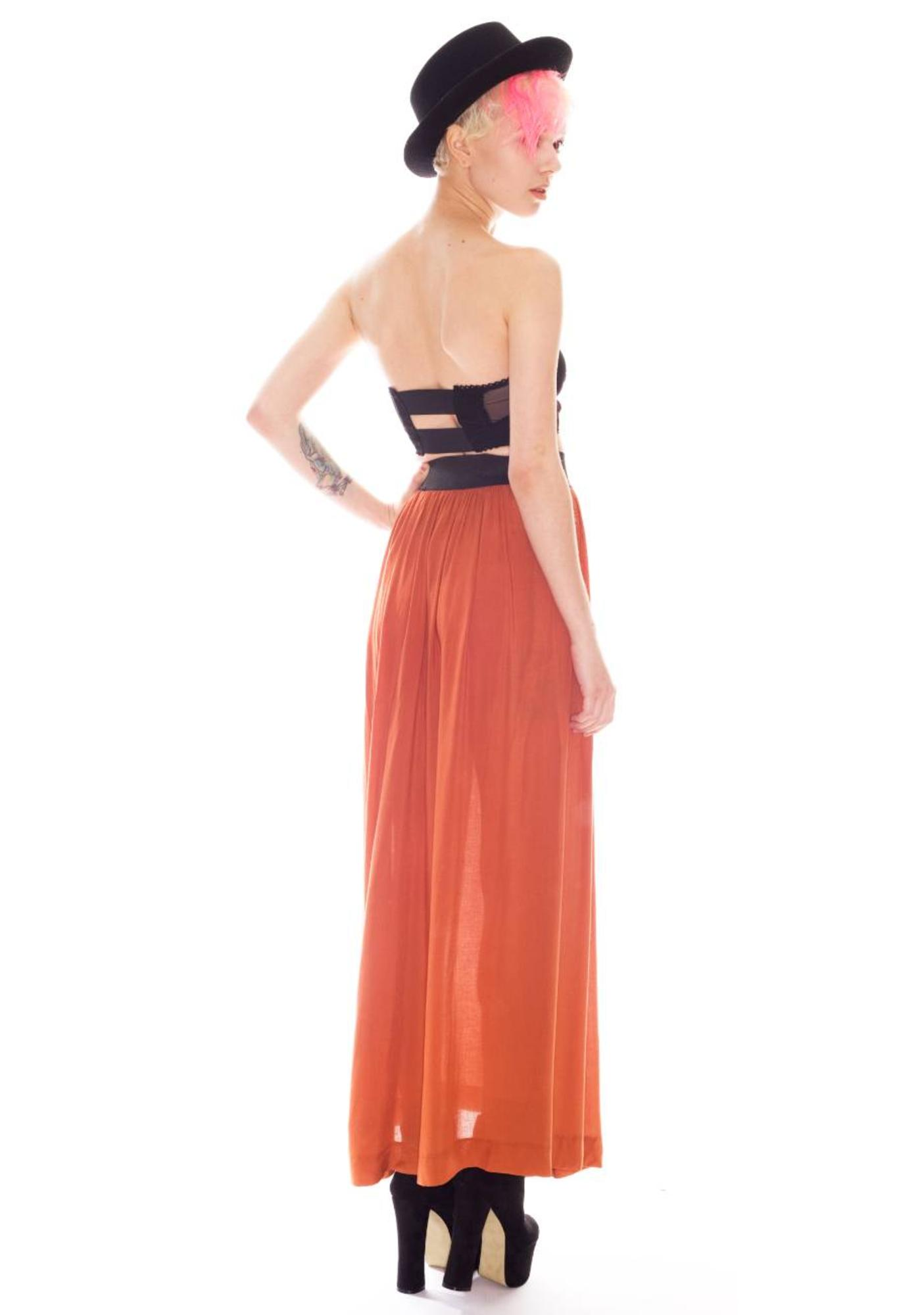 One Teaspoon Montgomery Maxi Skirt