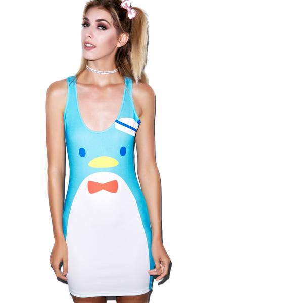 Japan L.A. Tuxedo Sam Bodycon Dress